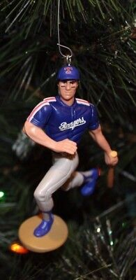 TEXAS RANGERS Christmas tree ornament JOSE CANSECO alt blue jersey ()