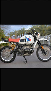 Bmw r80 GS Paris Dakar r100gs Warrandyte Manningham Area Preview