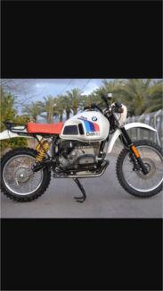 Wanted: Bmw r80 GS Paris Dakar r100gs
