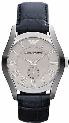 Emporio Armani Classic Navy Blue/Silver/White Quartz Men's Watch AR1666