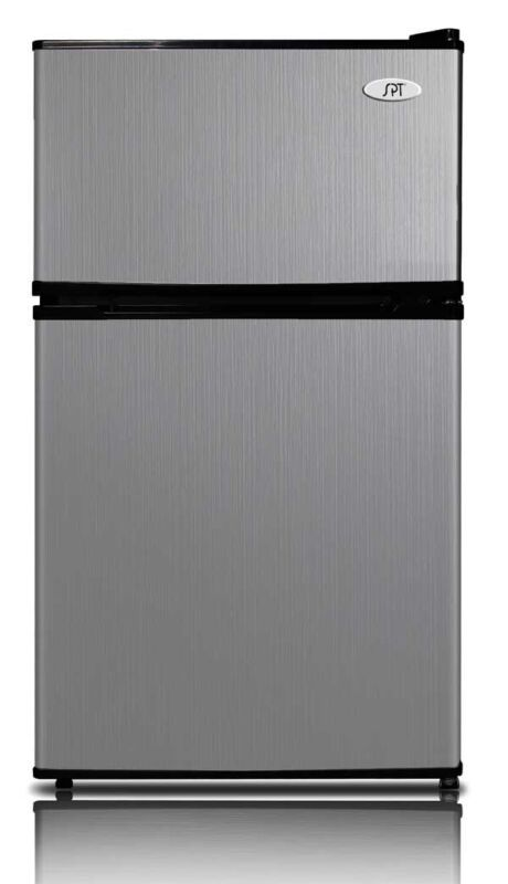 SPT 3.1 Cu. Ft. Compact Refrigerator Stainless Steel RF-314SS