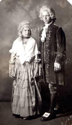1933 image boy girl teens halloween theatre revolutionary period, Kalamazoo, - Halloween Kalamazoo