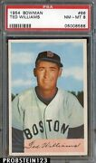 1954 Bowman Ted Williams PSA