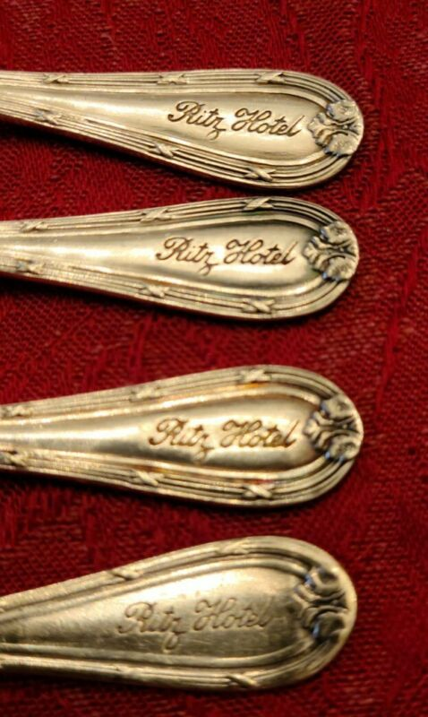 Ritz Hotel Silver-plated Demitasse Spoon Lot