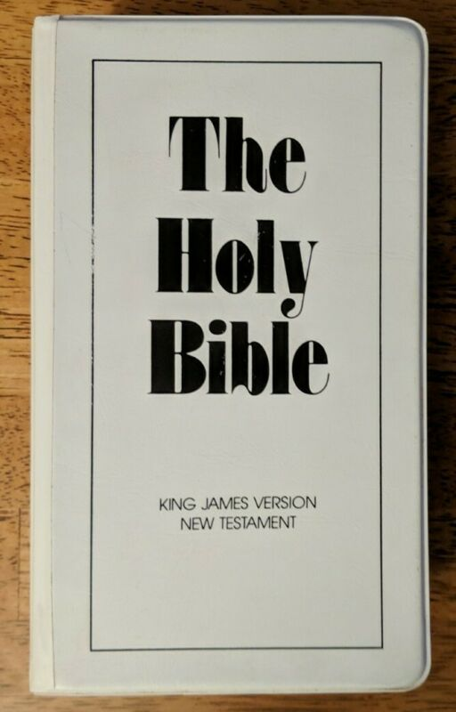 The Holy Bible King James Version New Testament On Audio Cassette 12 Tape Set