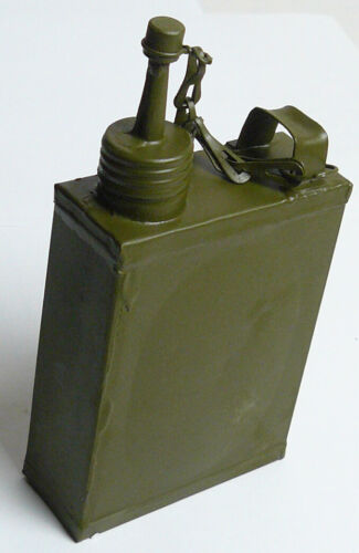 Green Vintage Russian Soviet Military Oil Can MG Maxim Oiler Flask Canteen