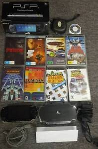 Sony PSP Console, 7 UMD games, 2 UMD Movies, Custom Firmware Geilston Bay Clarence Area Preview