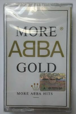 """ABBA - """"More Abba Gold"""" cassette tape ukr version OOP hits frida cher baccara"""