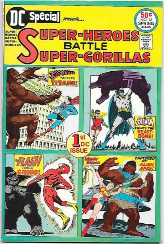 DC Special #16, DC 1975 Super-Heroes Battle Super-Gorillas! NM