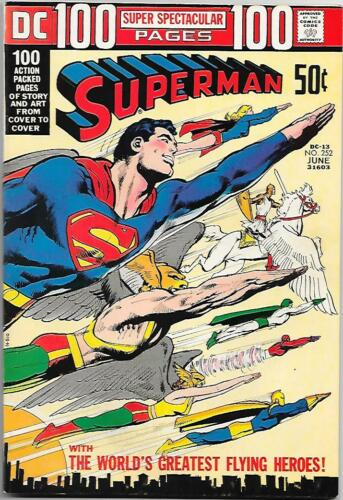 DC 100 Page Super Spectacular DC-13 / Superman #252 1972 Adams wraparound cover