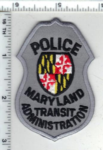 Maryland Transit Administration Police 1st Issue Cap/Hat Patch