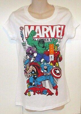 MARVEL COMICS AVENGERS WOMEN'S TOP sizes M-2XL - Women Avengers
