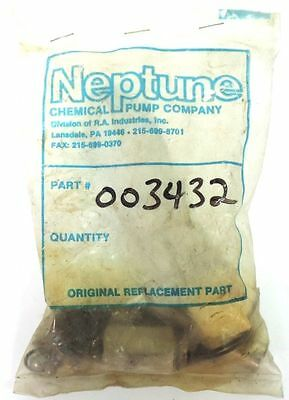 NEPTUNE CHEMICAL PUMP COMPANY DIAPHRAGM METERING PUMP SPARE PARTS KIT 003432