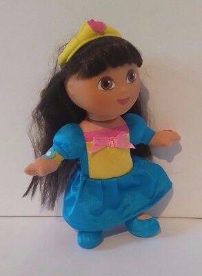 Fisher-Price Fairytale Dora The Explorer As Princess Soft Toy Figure Mattel Doll