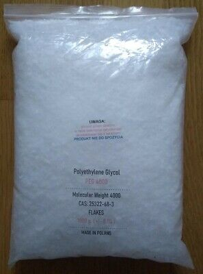 Polyethylene Glycol Peg 4000 - 1000 G.