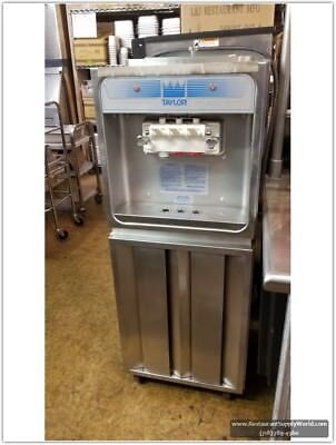 Taylor 168-27 Soft Serve Freezer Air Cooled 220 Volts 60 Hz Single Ph - Used