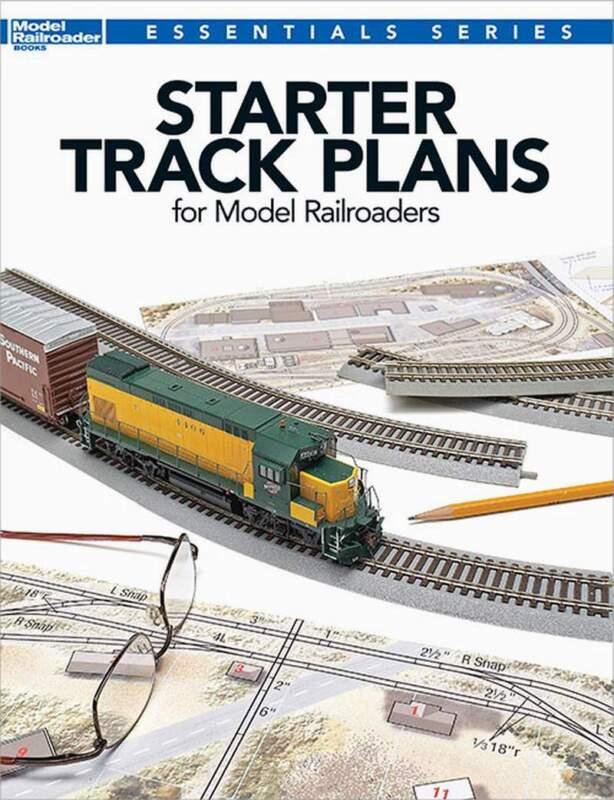 KALMBACH BOOK STARTER TRACK PLANS for MODEL RAILROADERS