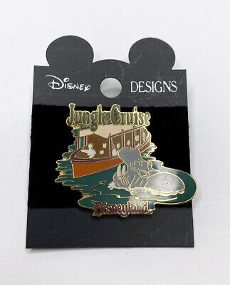 Disney Disneyland DLR 1998 Jungle Cruise Hippo Attraction Pin VTG Rare HTF A4