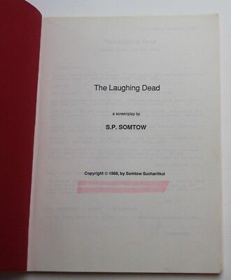 The Laughing Dead / Somtow Sucharitkul 1988 Movie Script Screenplay, HORROR FILM