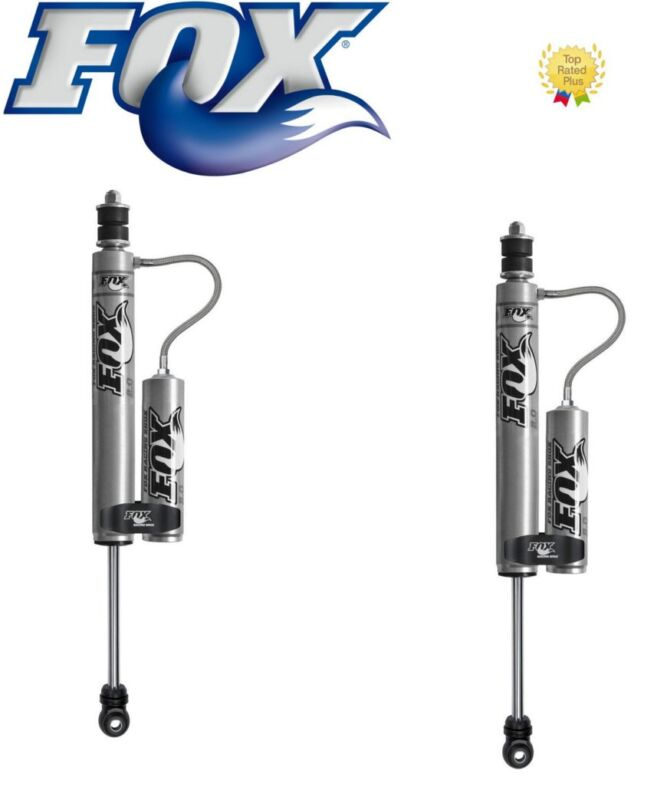 "Fox Remote Reservoir Shocks Front 0-1"" Lift Kit For 01-10 Chevy Silverado 2500hd"