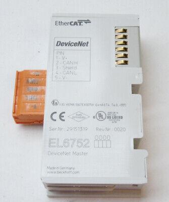 Beckhoff El6752 0020 Devicenet Master Terminal