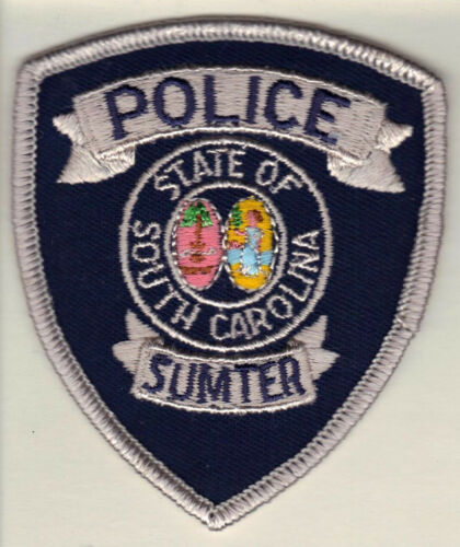Sumter Police (South Carolina) small Shoulder Patch new from 1991