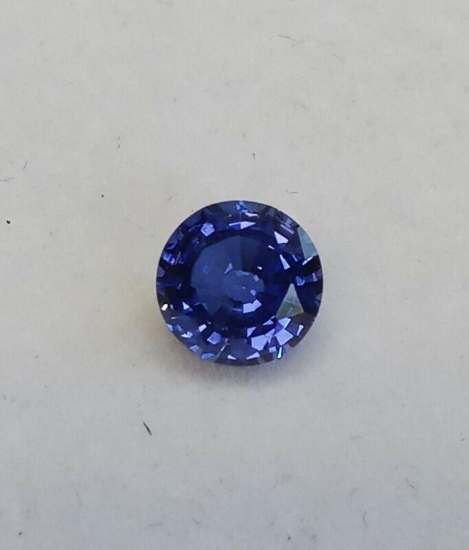 Fabulite Corundum Sapphire New wtags Antique/Vintage gemstone stock fb34