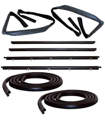 Door Weatherstrip Seal Kit for 83-94 Chevy S10 Blazer GMC S-15 Jimmy 1994 Chevrolet Blazer Parts
