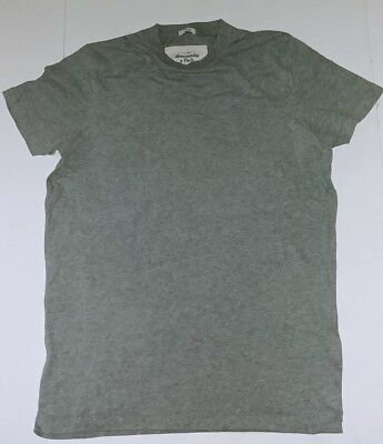 Abercrombie & Fitch Men's Super Soft Unprinted Muscle T-Shirt New Large Grey