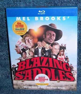 NEW MEL BROOKS BLAZING SADDLES 40TH ANNIVERSARY EDITION MOVIE BLU RAY SET 1974](Blaze Movie)