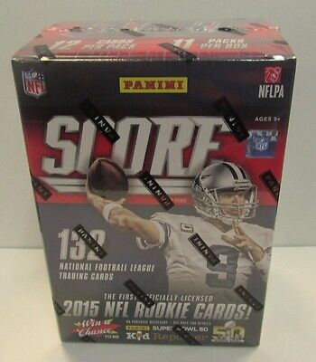 2015 NFL Panini Score Football Cards Blaster Box  New Sealed