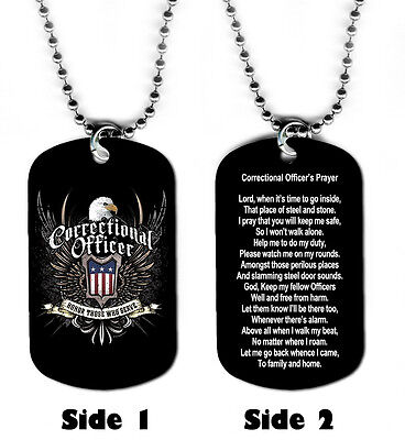 DOG TAG NECKLACE - Correctional Officer