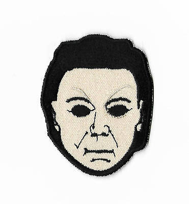 Horror Movie Characters Halloween Costumes (Halloween Patch Embroidered Badge Slasher Horror Movie Michael Myers Costume)