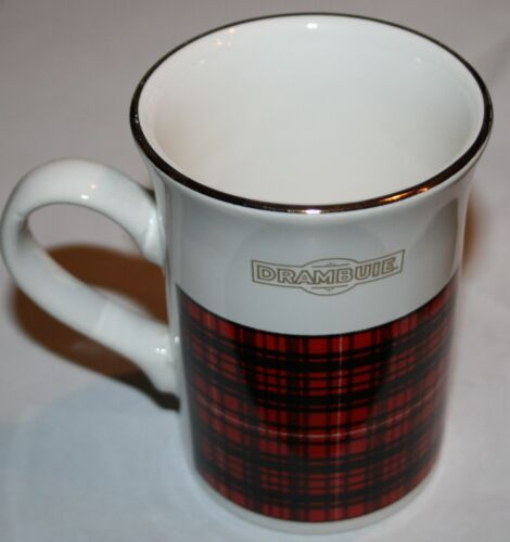 Drambuie Coffee Cup Flared Top Plaid, Made in England by Kilncraft