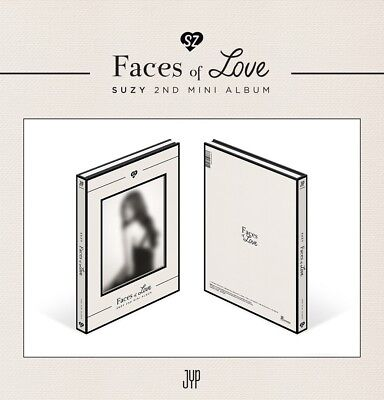 SUZY - Faces of Love (2nd Mini Album) CD+4Postcards+Tracking no.