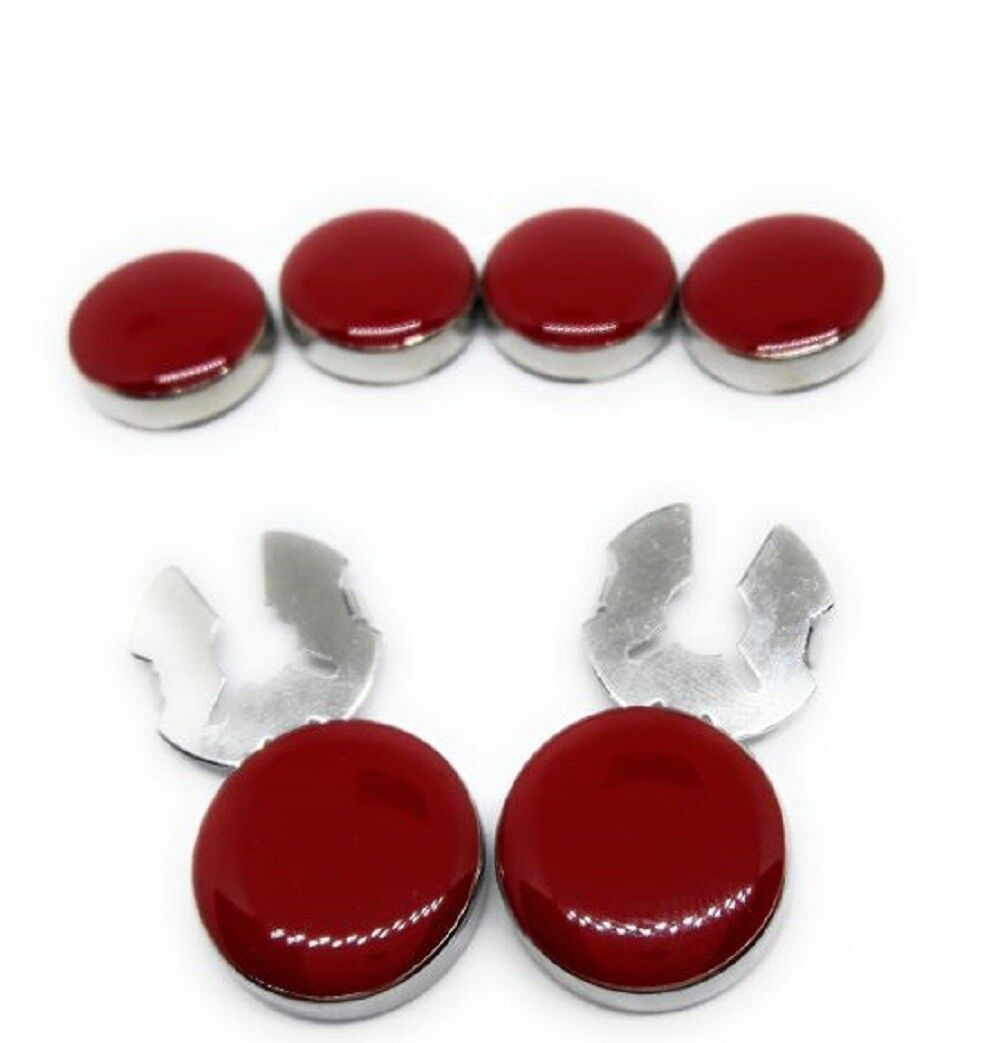 Cufflinks Button Covers Set Silver Cuff Enhancers Manufacturers Direct Pricing