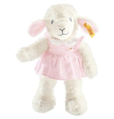 STEIFF Träum Süss Lamm mit Kleid rosa 28 cm NEU 239625