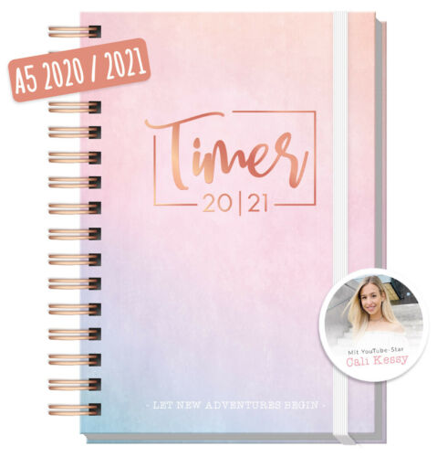 Häfft-Timer 2020/2021 - Edition CaliKessy  - Jugendkalender