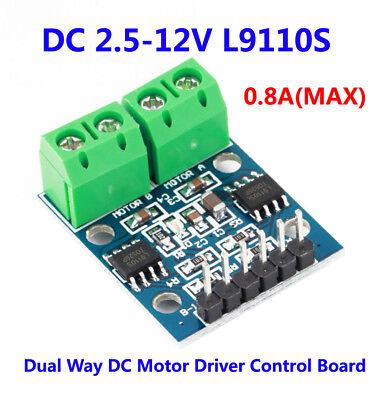 Dc 2.5-12v L9110s Dual Dc Driver Control Board Module Stepper Driver Motor