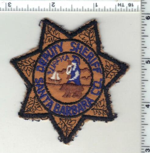 Santa Barbara Deputy Sheriff (California) 1st Issue Cap/Hat/Uniform Patch