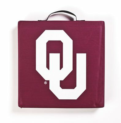 Oklahoma Sooners  NCAA Bleacher Seat Cushion 14 x 14 x 2 Sold Man Cave    - Ncaa Bleacher Cushion