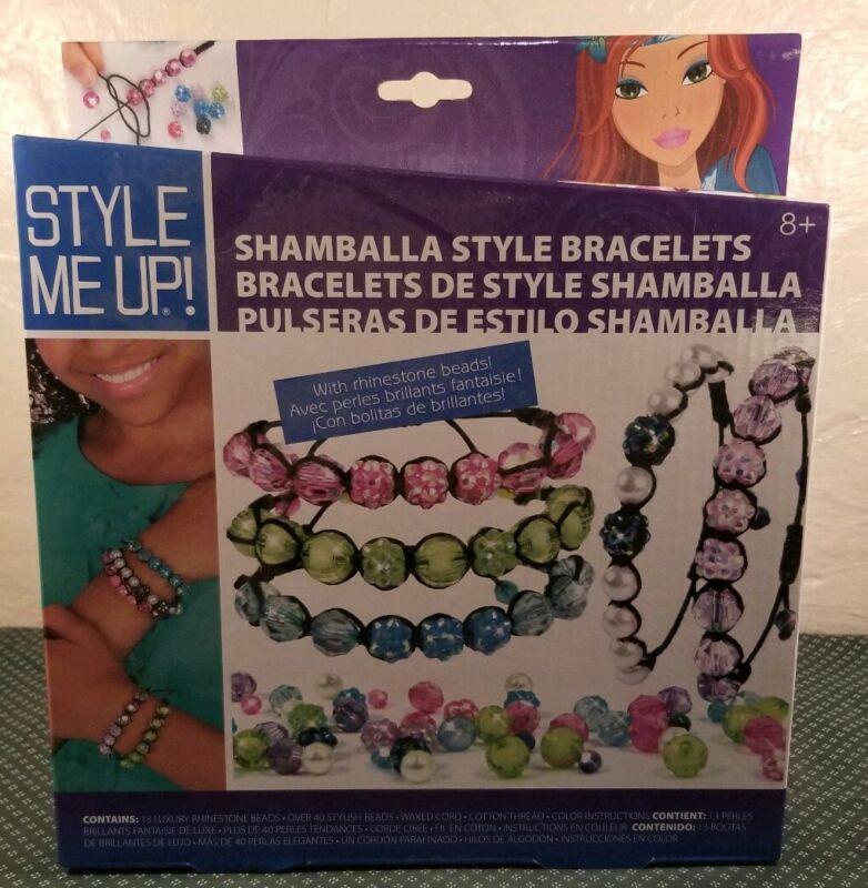 Style Me Up - Shamballa Glitter Style Bracelet Making Kit for Girls