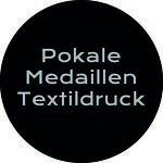 Pokale Medaillen Textildruck