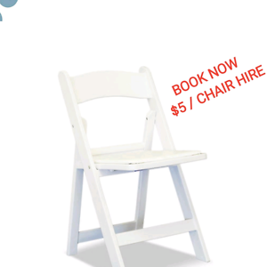 $5 american folding chairs Fawkner Moreland Area Preview