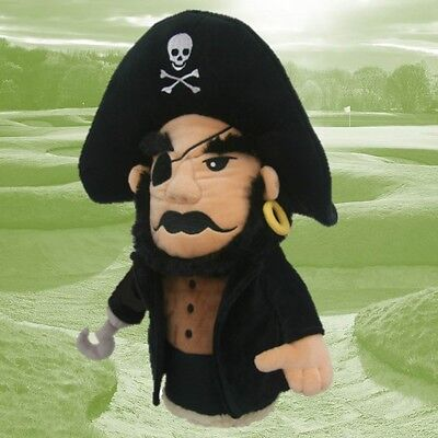 Pirate Golf Club Headcover for Driver, 1 wood, Oversize Golf Headcover by Daphne Daphne Headcovers Oversize Headcovers