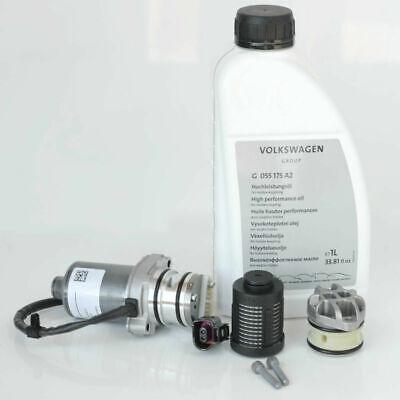 VW 0AY598549A Generation 4 Pump for Haldex Audi Seat Skoda filter and Oil SET UK