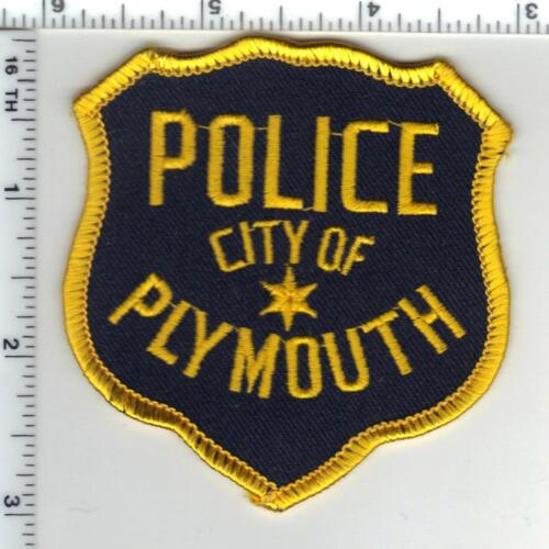 City of Plymouth Police (Wisconsin) 1st Issue Shoulder Patch