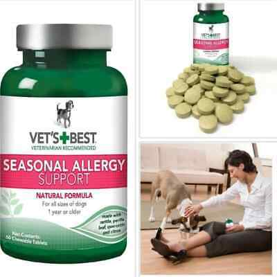 Best Allergy Medicine Supplement Tablet Relief Dogs Itchy Skin Rash