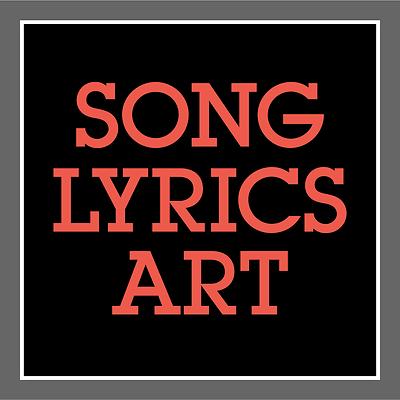 DAVE MATTHEWS BAND • Song Lyric Art Poster • NUMBER 41 • Prints ...