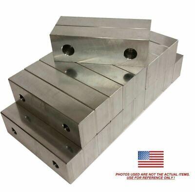 20 Pack 6 X 2 X .75 Machined Aluminum Vise Soft Jaws For Kurt 6 Vises Free Ship